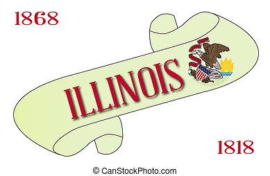 Illinois Scroll