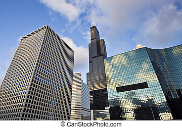 Office buildings in Chicago, IL