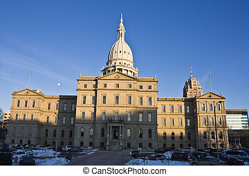 Lansing, Michigan - State Capitol - State Capitol of...