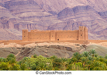 Famous kasbah Oulad, Morocco - Famous kasbah Oulad in...