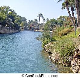 River Jordan in Israel