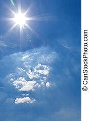 明亮, 太陽