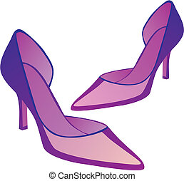 high heel pair of shoes