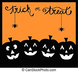Trick or Treat Pumpkins