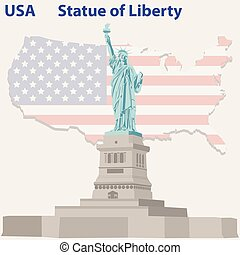 Statue of Liberty in USA