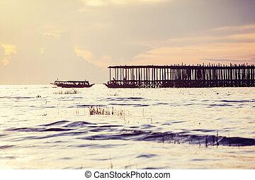 bote, em, cambodia