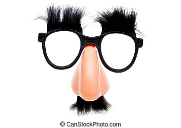Novelty glasses isoalted on a white background - Photo of a...