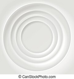 White rippled surface vector background