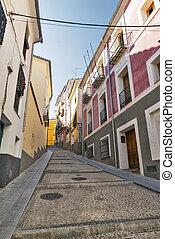 Cuenca Spain, street - Cuenca Castilla-La Mancha, Spain, an...