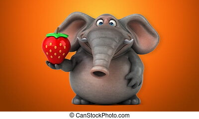 Fun elephant - 3D Animation