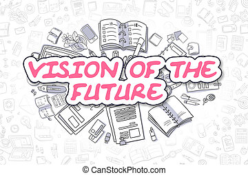 Vision Of The Future - Business Concept.