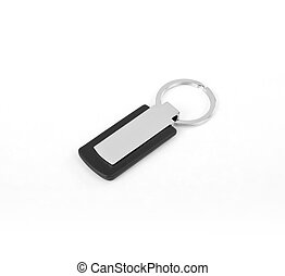 Keychain with space for text or logo - Keychain with space...