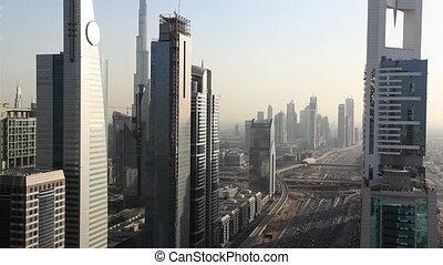 dubai city traffic.mov