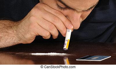 fazendo, cocaína