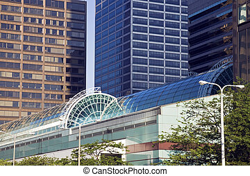 Downtown Cleveland buildings - Modern Downtown Cleveland...