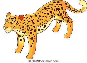 Isometri leopard icon - Vector image of the Isometri leopard...