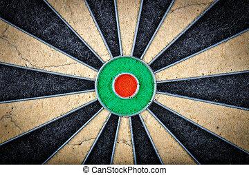 close up of darts board