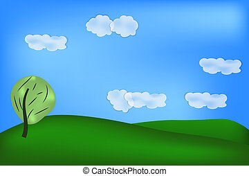 Background of green feeld - natural background of green...