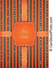 motivation retro best wishes sticker - Decorative birthday...