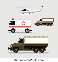 Disaster Assistance Response Vehicles, Side View -...