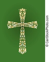 Christian ornate cross