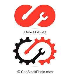 Infinite and Industrial icon. - Infinite and Industrial...