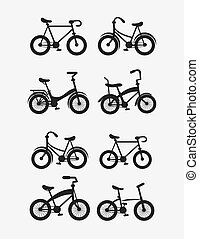 assorted bikes image