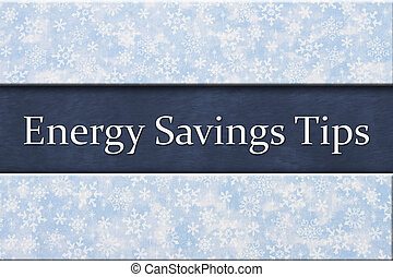Energy Savings Tips message