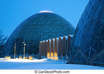 Dome of a Botanic Garden in Milwaukee