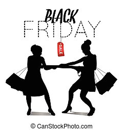 Black Friday - Black friday sale graphic design, Vector...