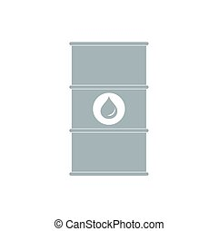 Stylized icon of the barrel of oil