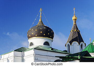 Cupola of Church of St Mary Magdalene in Minsk - Cupola of...