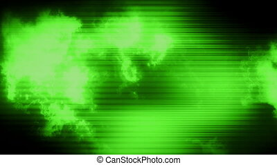 VJ Electric green motion loop - Animated VJ Electric green...