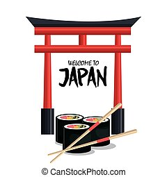 food traditional japanese icon graphic isolated