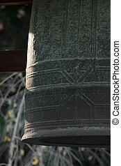Bell in a buddhist temple