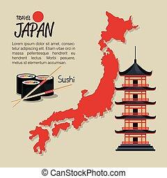 welcome japan mount fuji design vector illustration eps 10