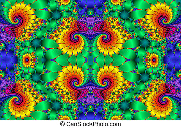 Fabulous multicolored background. You can use it for...
