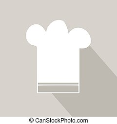 trendy vector cook hat illustration - Very high quality...