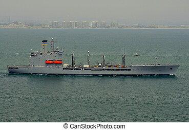 USNS Henry J. Kaiser (T-AO-187) - The U.S. Navy Fleet Oiler...
