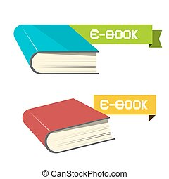 E-book Vector Icons