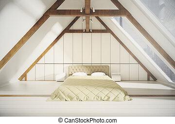 屋根裏, 寝室, 内部