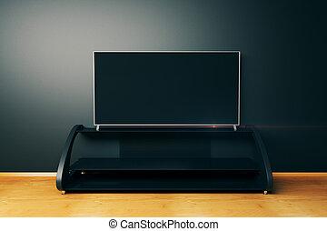 Flat TV screen