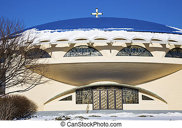 Church in Milwaukee - Church in Milwaukee, Wisconsin - seen...