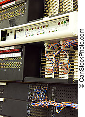 Telco equipment on cellular site - Telco indoor equipment on...
