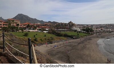 Tenerife beach coast Atlantic ocean - DSLR Full HD...