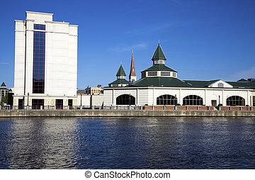 Downtown of Joliet, Illinois, USA