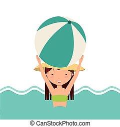 pool party enjoy icon