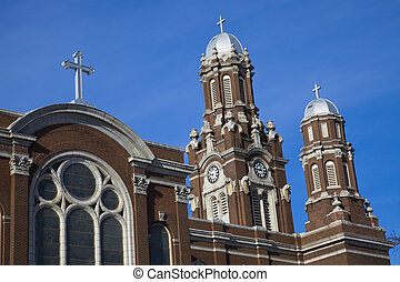 St Hyacinth Basilica in Chicago, Illinois
