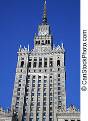 Palace of Culture and Science in Warsaw