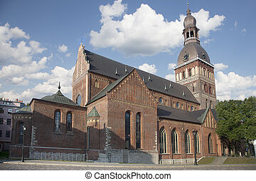 Riga Cathedral (Rigas Doms) is the Evangelical Lutheran...